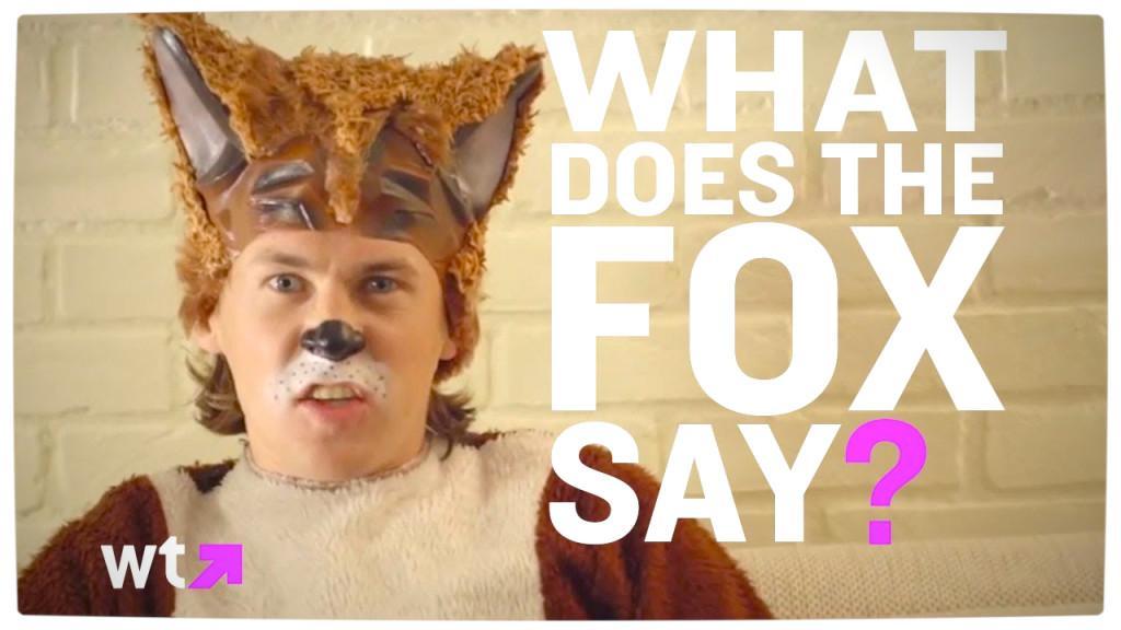 What the fox say скачать бесплатно mp3