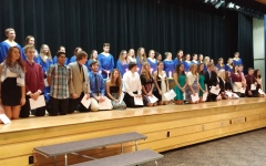 Congratulations to the new members of NHS!