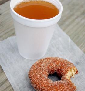 Apple Cider & Cider Donuts!