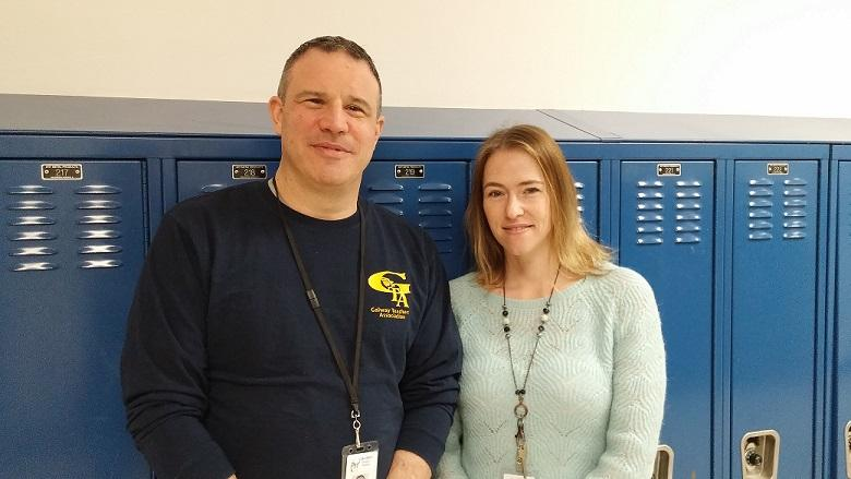 Congratulations Mr. Levin and Ms. Frisbie!