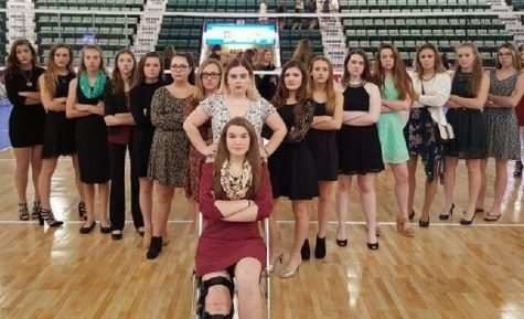 Volleyball team finishes an amazing season