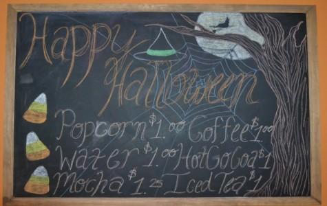 E-Way Cafe Goes Halloween