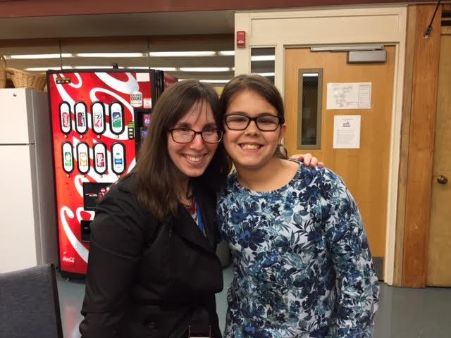 Teen Reader Con Highlight:  Meeting Jackie Morse Kessler