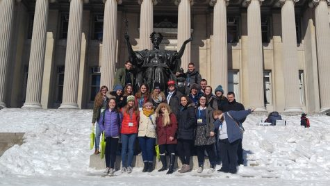 Out of the Blue: Columbia University