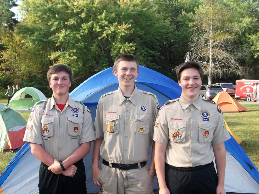 Galway Troop 5 Boy Scouts: National Brotherhood Camporee 2017