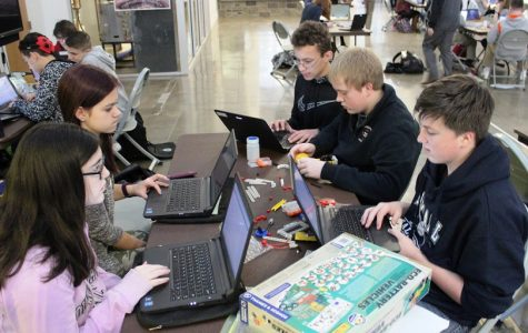 This throwback picture was in The Ballston Journal 3 years ago when the group first started at Tec-Smart!