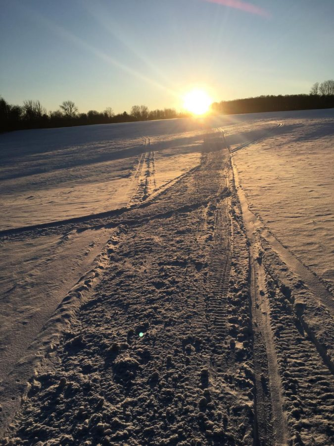 Out of the Blue: Winter Sunsets