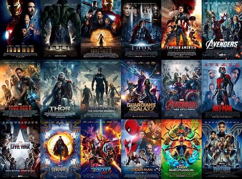 Top 10 MCU movies
