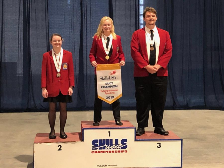 Julia Holbrook Outtalks SkillsUSA Competitors Yet Again!