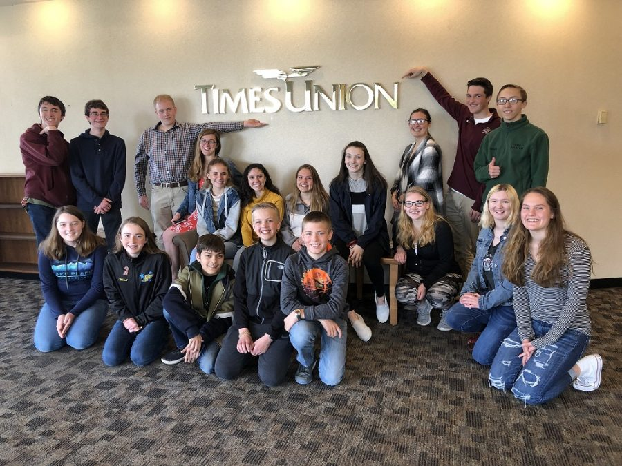 EMC and GTV trip to the Times Union