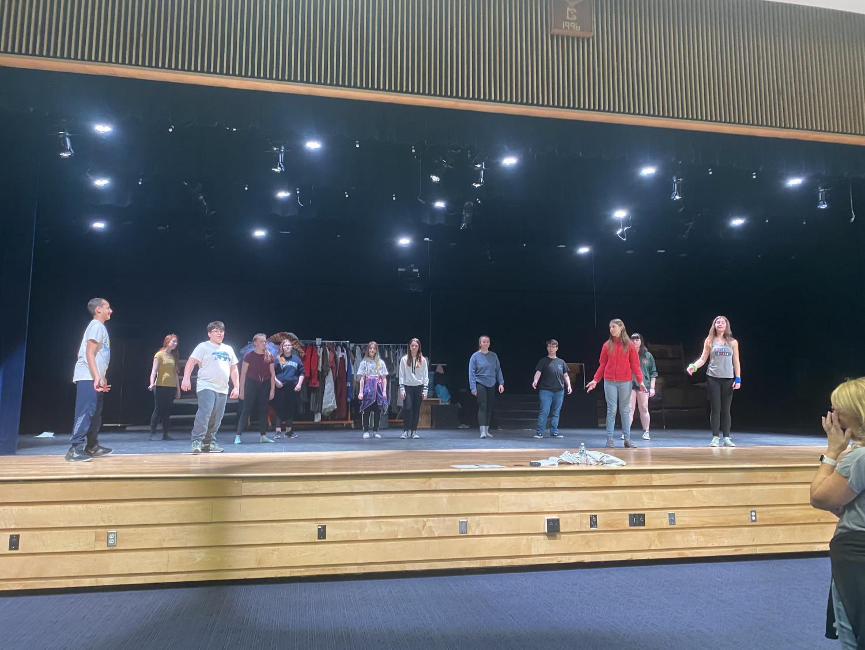 Drama Club rehearsal