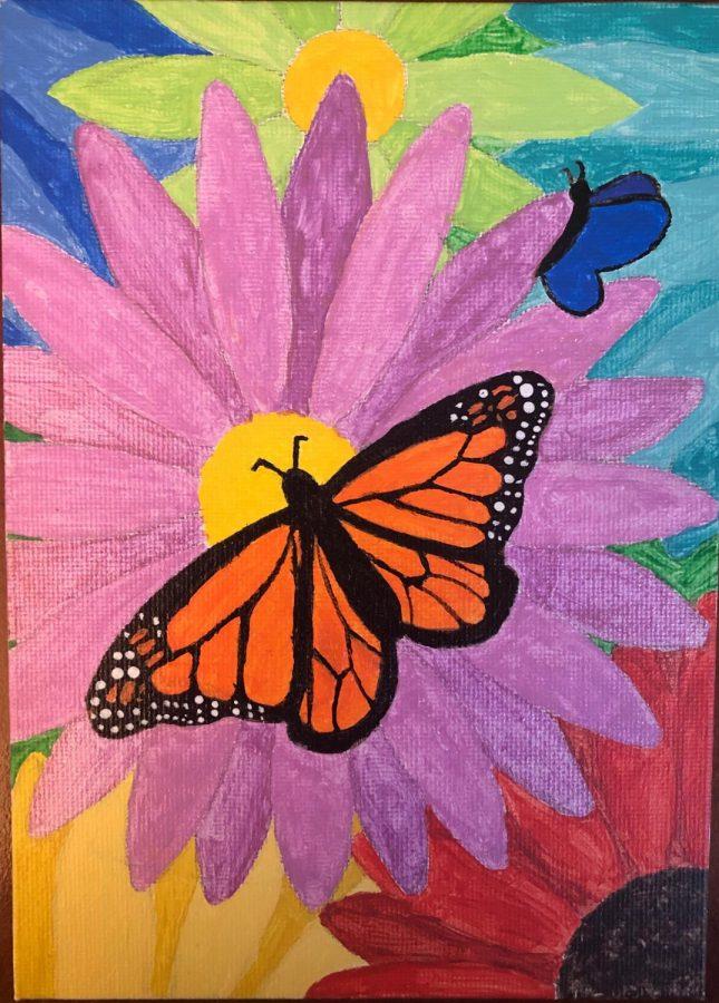 Hannah's butterfly