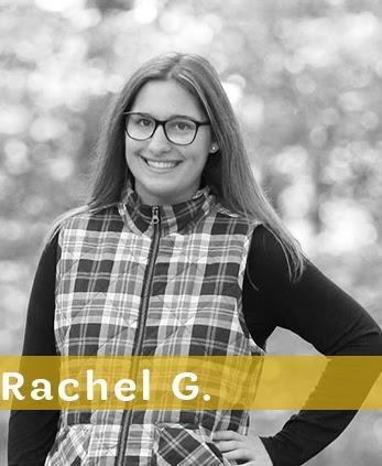 Congratulations Rachel!