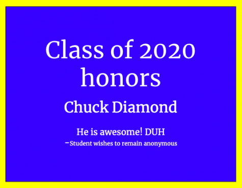 The Class of 2020 Honors Their Teachers