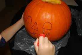 It's the Great Pumpkin Carving Contest, Eagle Nation!