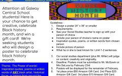 Enter the Black History Month Poster Contest