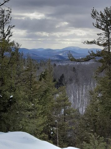 The view from the Meade Mountain summit