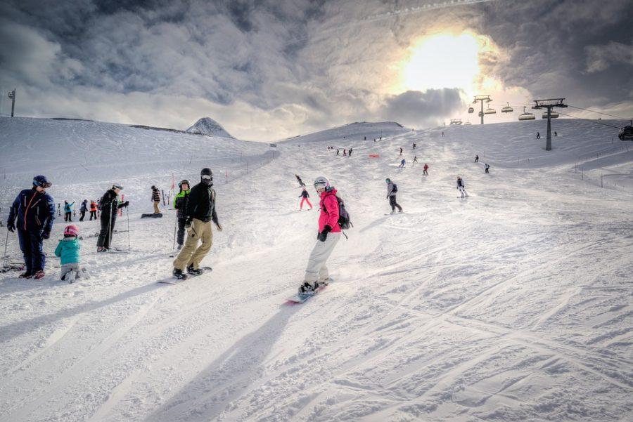 Kitzsteinhorn+Snowboard+Kaprun+Ski+Slope+Skiing